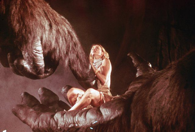 Jessica Lange in King Kong (1976)
