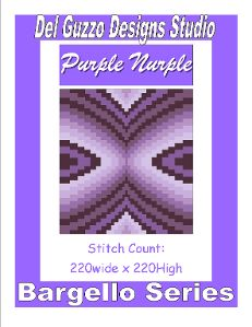 Pattern Description:  SIZE:  Twin size pattern 220x220  Series/Collection: Bargello  Pattern Information:  PDF consisting of 41 pages  A full color pattern containing a front cover, small complete graph, how to tape pages together, large graph broken down onto multiple pages for ease of viewing. (can be zoomed in and out)  Color key for Red Heart Yarns.  Instructions for how to read my graphs/patterns  And a Stitch and Skein count in an easy to read chart for G, H, & I hooks in SC, DC, & HDC