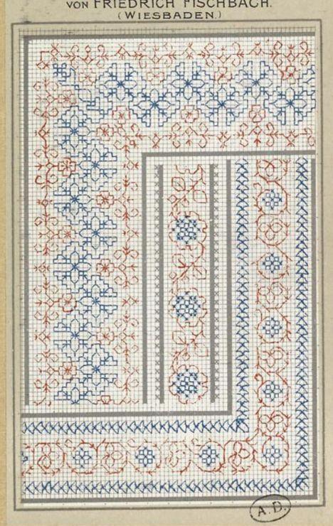 Gallery.ru / Фото #154 - старинные ковры и схемы для вышивки - SvetlanN