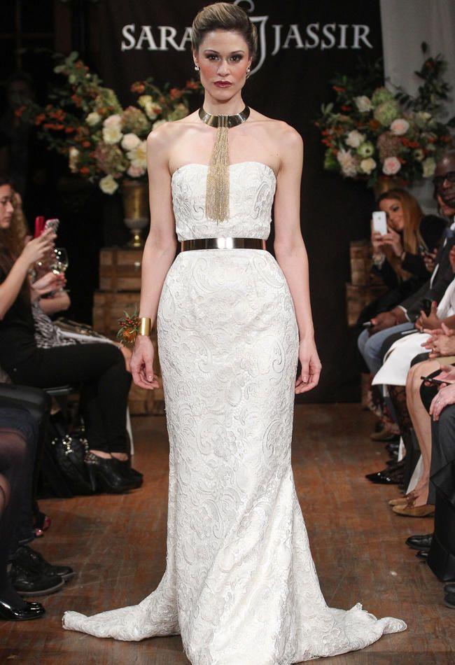 Sarah Jassir Wedding Dresses Feature Simple Elegance for 2015 | TheKnot.com