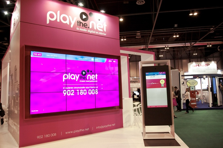 playthe.net en la feria de Digital Sign World