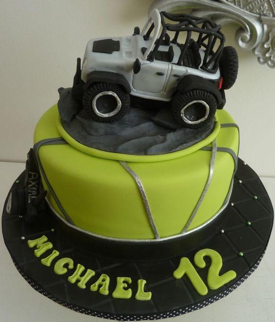 Best Birthday Car Theme Images On Pinterest Car Cakes - Car engine birthday cake