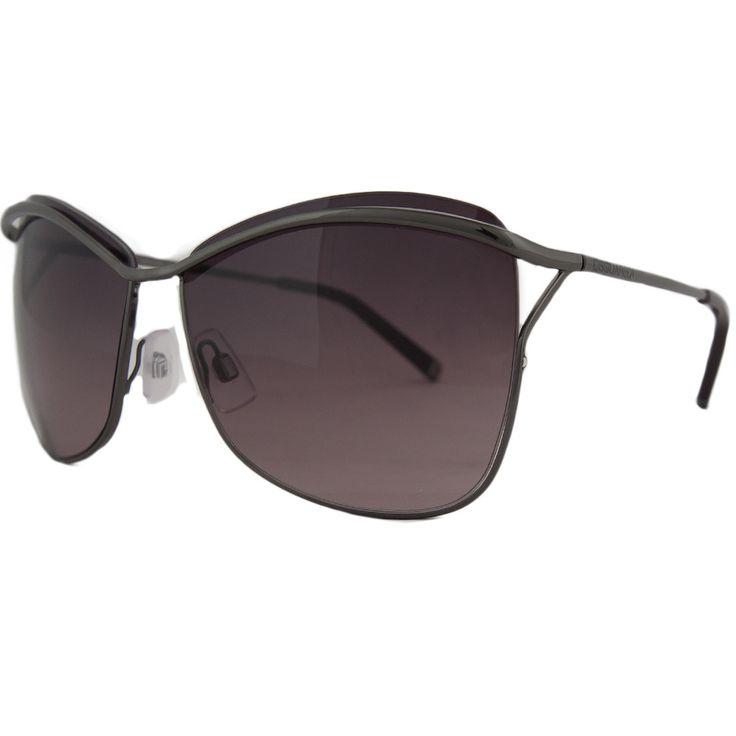 DSquared DQ 0091 08Z Gunmetal Square Full Rim Sunglasses