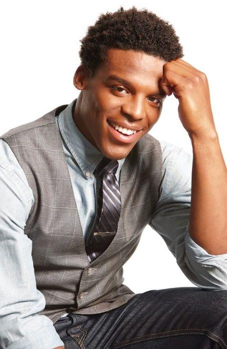 Cam Newton | afro | styles for black men