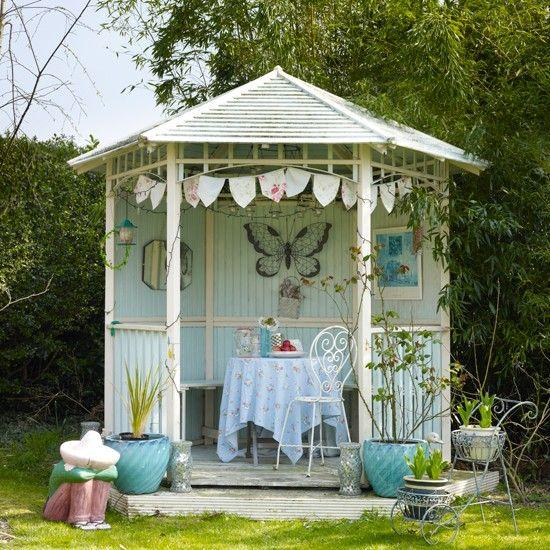 Garden summerhouse centrepiece | Garden room design ideas | Gardens | housetohome.co.uk