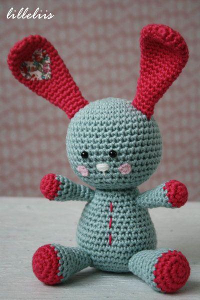 Funny Bunny Amigurumi ~ Patrón Gratis en Español