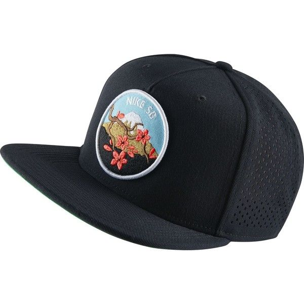 aec61f159d9 Nike Cherry Blossom Perf Pro Trucker Hat (47 NZD) ❤ liked on Polyvore  featuring accessories