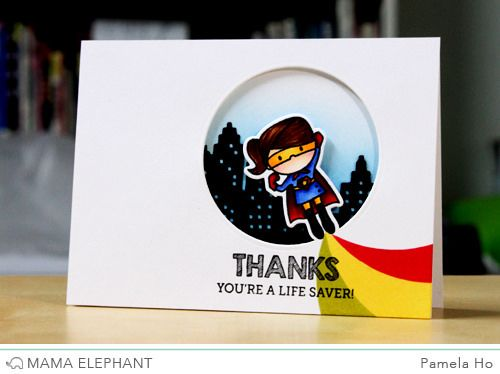 Good morning and welcome to Mama Elephant's January release! Did you miss Simon Says x Mama Elephant's exclusive stamp set Super Duo? Introducing Tiny Heroes and its coordinating creative cuts! I m...