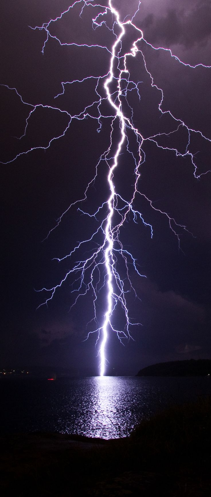 Lightning Strike - Sydney Thunderstorm 8th April 2012 By KAM=//=DHATT via Flickr