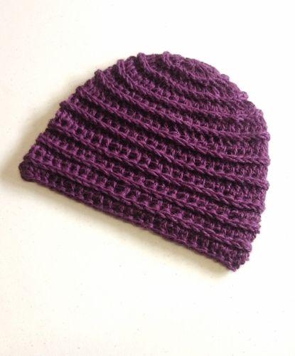 Purple Passion Ridges Hat - Paca de Seda, $35.00