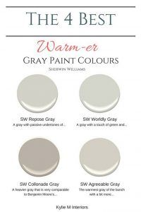 Warm Grey Paint Colors Sherwin Williams Respose Gray