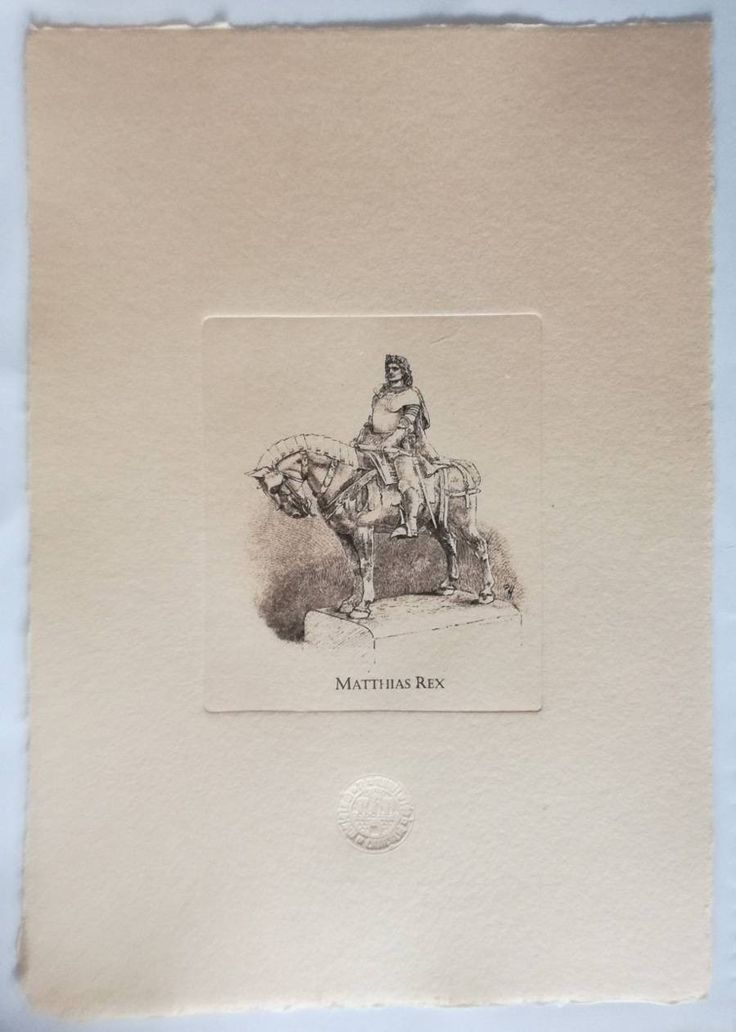 Excited to share the latest addition to my #etsy shop: King Mathias statue in Cluj, Transylvania, hand-pulled etching on handmade paper, dry stamp/emboss, vintage art, mechanically engraved plate #printmaking #engraving #travelsouvenir #hungariangift http://etsy.me/2EpDNHW