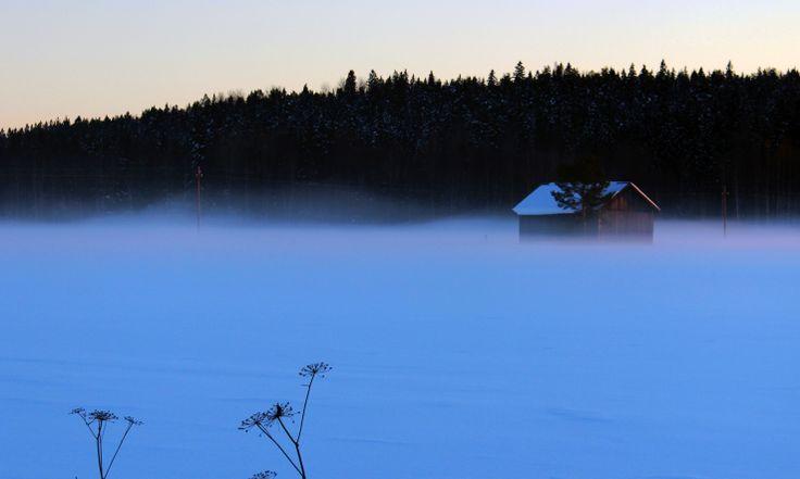 sumu nousee.. Nurmijärvi.