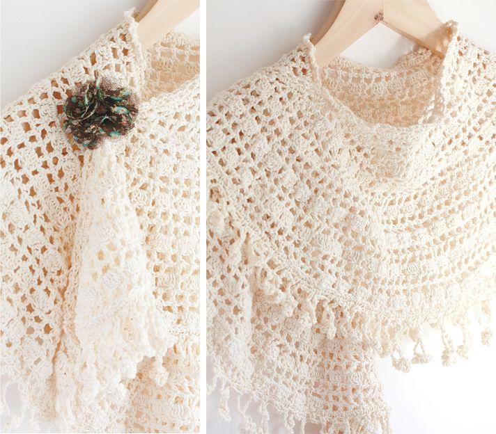 98 mejores imágenes sobre Prayer shawl en Pinterest | Patrón gratis ...