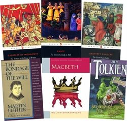 Omnibus II - Primary Books (Second Semester): The History of the Kings of Britain, Macbeth, Sir Gawain and the Green Knight, The Divine Comedy: Inferno, The Canterbury Tales, and The Bondage of the Will