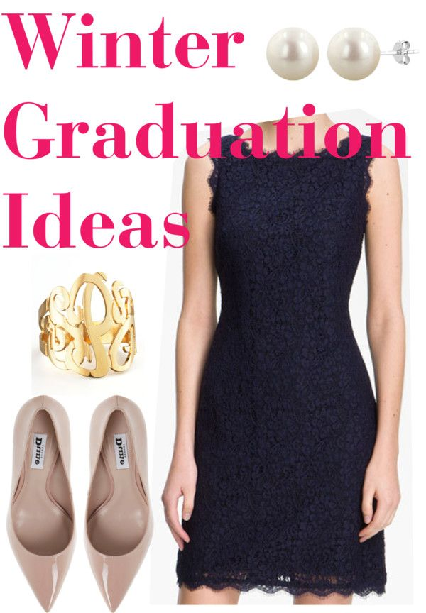 Classic Winter Graduation Look