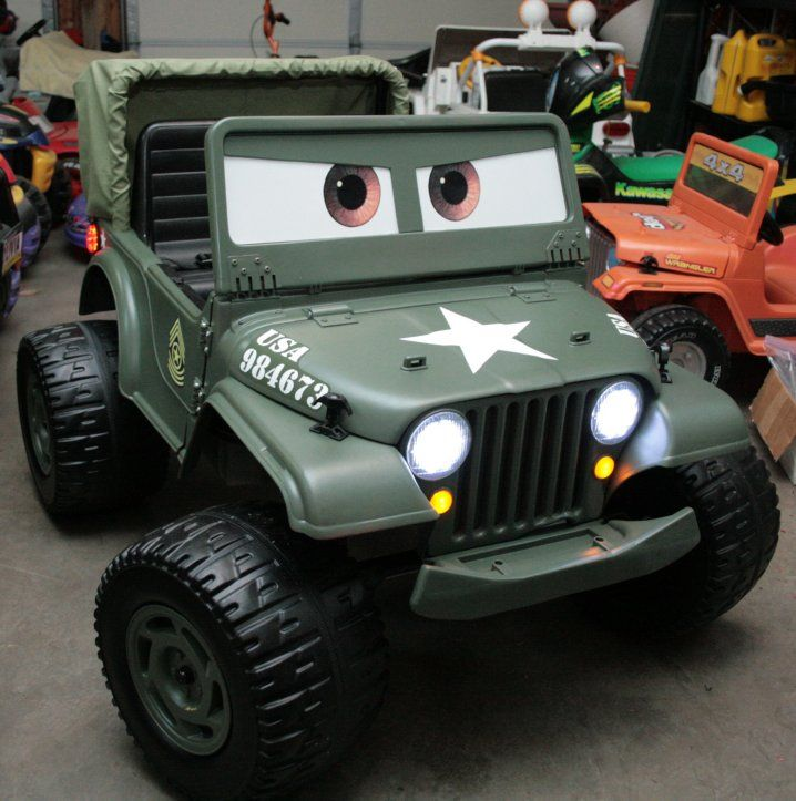 power wheels jeep wrangler custom paint - Google Search