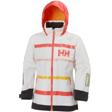 JR MOSS JACKET A waterproof, windproof, and quick-dry sailing jacket for juniors, for use while sailing or for everyday protection.Double click to zoom in