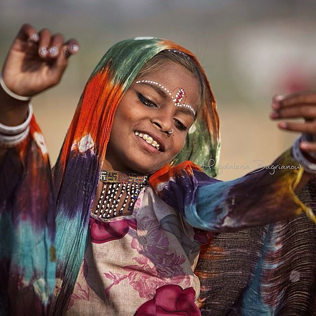 Photo by © Magdalena Bagrianow India