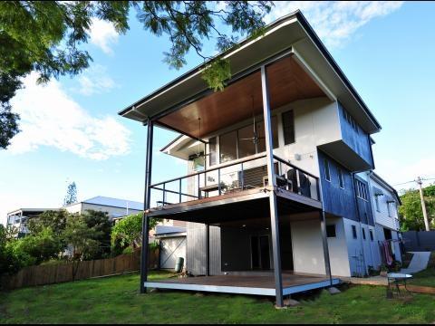 cladding for lower floors - Latemore Design