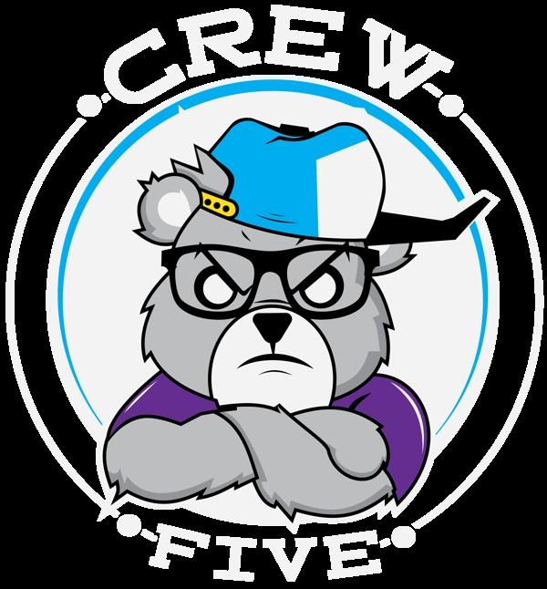 Crew Five Apparel Shirt Design by Jason Arroyo , via Behance