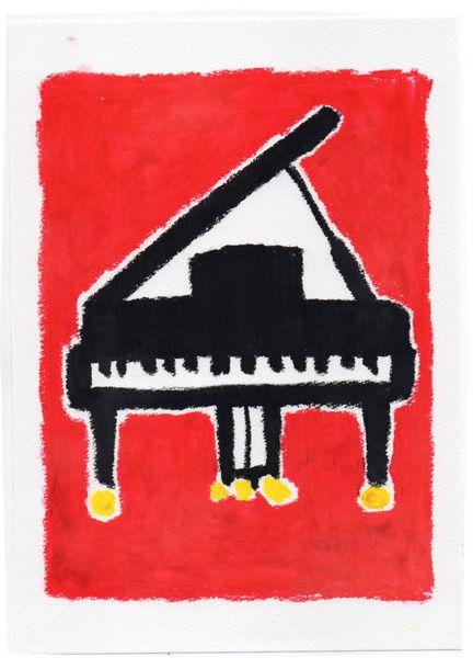 CUTE画「ピアノ」[en] | ART-Meter