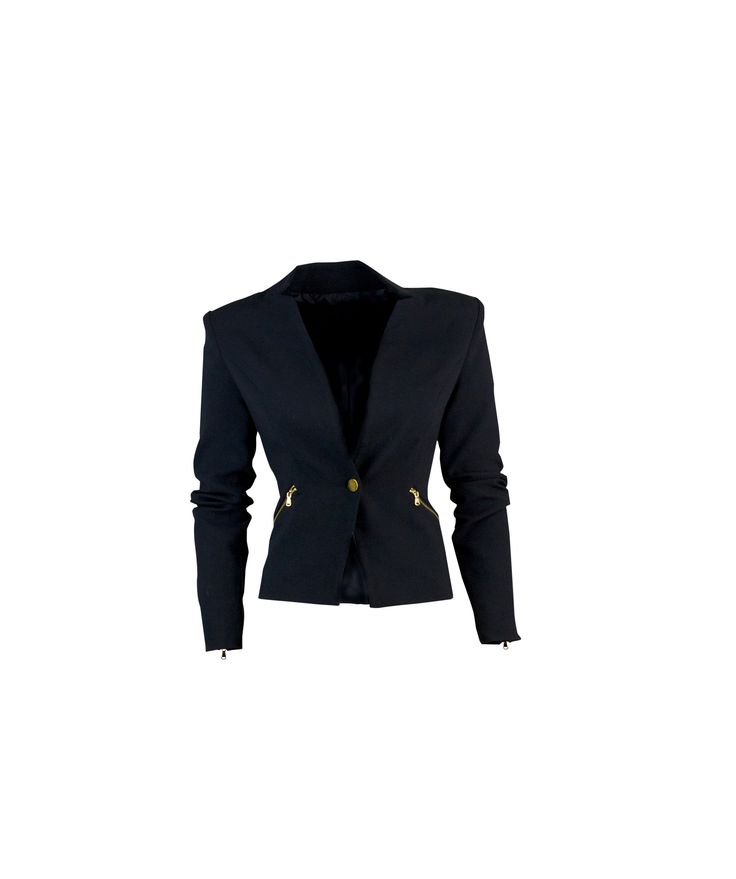 A black jacket for all occasions #fall #costablanca