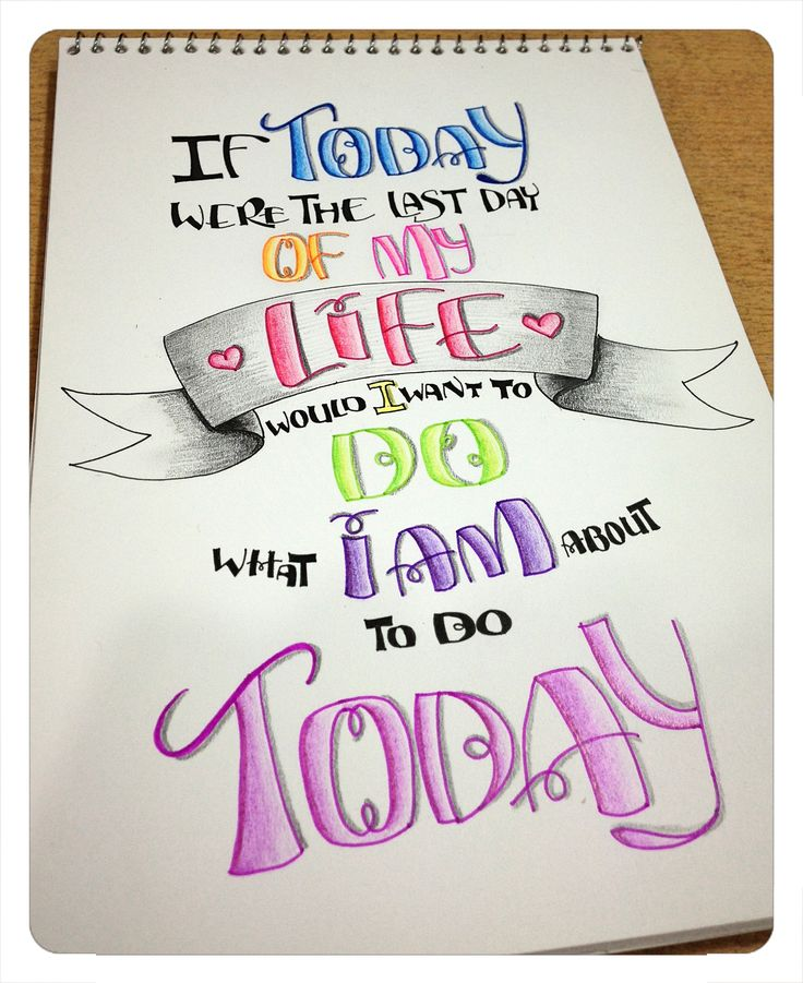 hand lettered happy birthday nikki mihalik letters beautiful lettering thought today were the last day life would