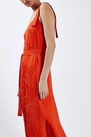 Subtle Jacquard Print Slip Dress by Boutique