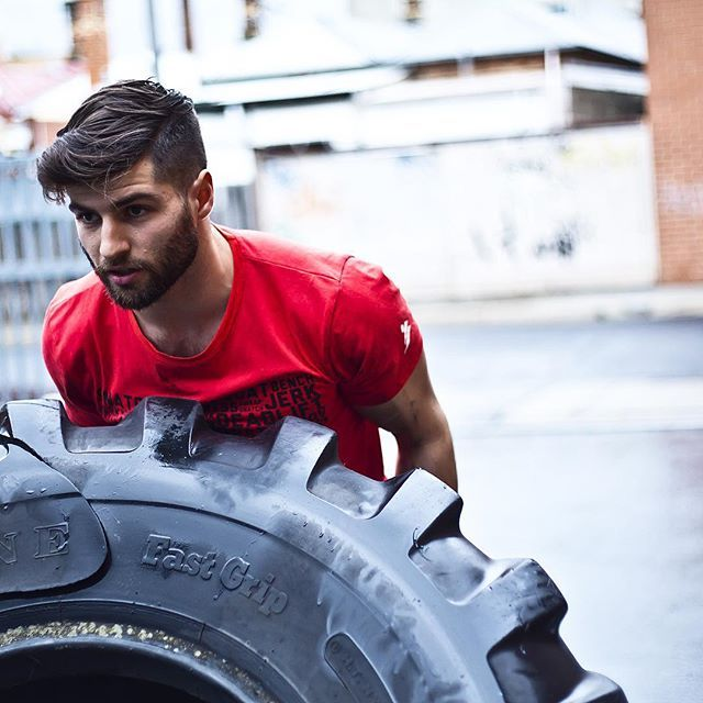 That time on one of our Pure Limits shoots where I made Dylan repeatedly wreck his new t-shirt by flipping tires in the rain. And yet he still shared his paleo noms with me when I got hangry.... #awwwwww #hangryphotographer @purelimitsclothing @peninsulabarbellclub #likeaboss #beastmode #flipthedamntyre #tyreflips #doyoueven #paleo #health #fitness #workout #wod #wodlife #bodybuilding #gym #training #motivation #exercise #crossfit #crossfitphotography #photographer #chickswhopix