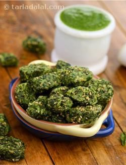 """I'd say, """"steam them, season them, and gobble them up!"""" you should ideally follow this process in quick succession and serve the palak methi na muthia soon after steaming—as freshness ensures the greatest satisfaction as far as this dish goes. It does take a while to painstakingly clean and chop the spinach and fenugreek leaves for making the dumplings, but it is definitely worth the while."""