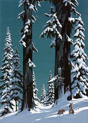 Charlotte Joan Sternberg Christmas Trees
