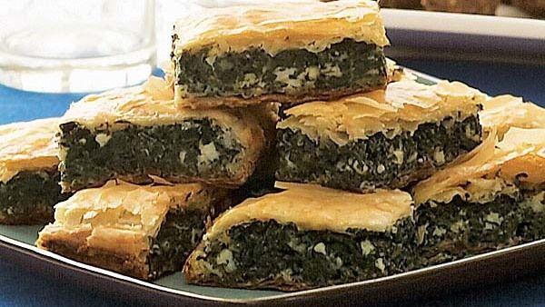 Greek Spinach & Feta Pie (Spanakopita) Recipe - FineCooking