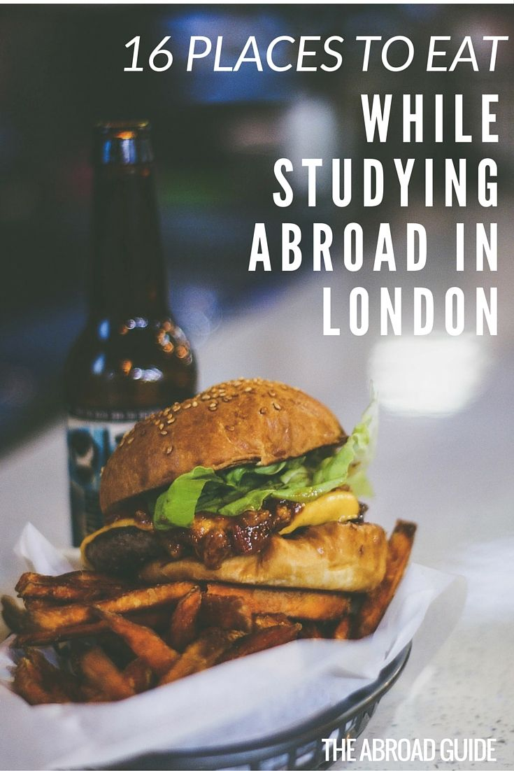 If you're studying abroad in London, don't miss these great food spots. Includes best budget eats in London, the best food markets in London, where to go for a nicer meal , and the traditional pub grub you should try while in London