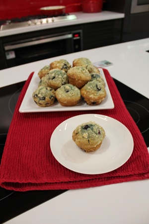Mum's Marvelous Blueberry Muffins - http://www.appliancesalesdirect.com.au/resource-centre/cooking-with-teka/recipes/dessert/mums-blueberry-muffins