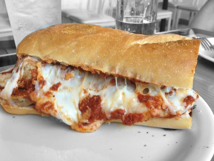 Meatball sandwich | Come 'n' Eat! | Pinterest