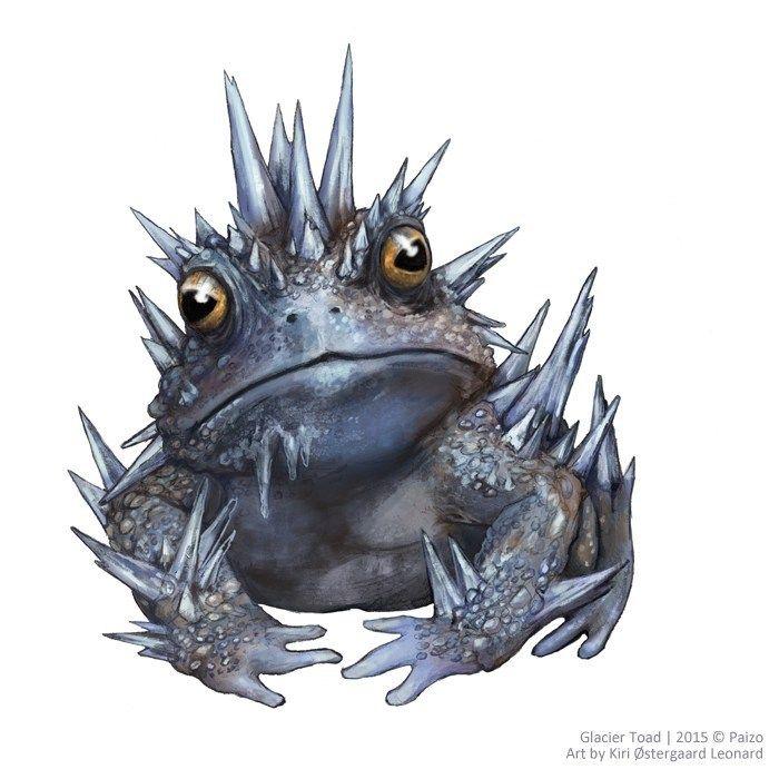 Image result for Glacier Toad   Fantasy monster, Anime monsters, Creature  design