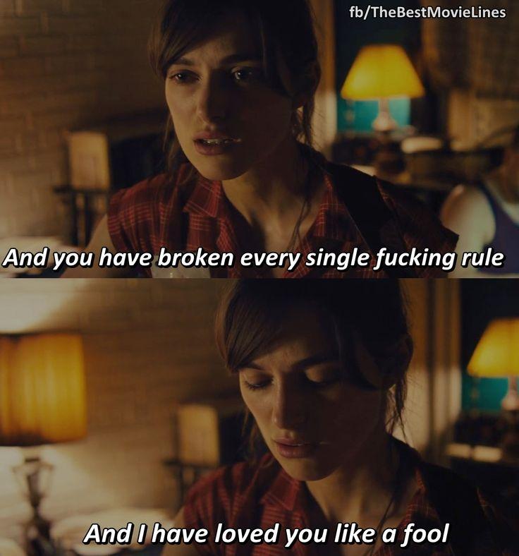 - Keira Knightley in Begin Again (2014)