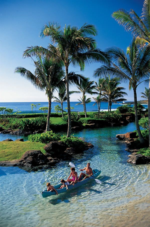 Grand Hyatt Kauai Resort & Spa, Hawaii. I don't recall this lagoon. Has been about 15yrs since our honeymoon though. How time flies
