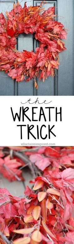 Use this easy DIY tip to make your wreath look full, thick and expensive! by Ella Claire