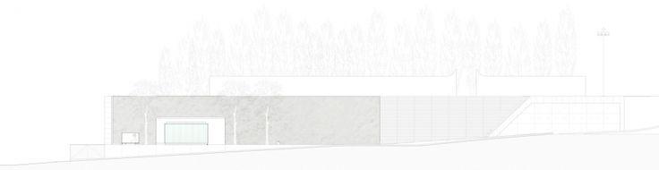 Mogadouro`S Bus Station_Elevation plan