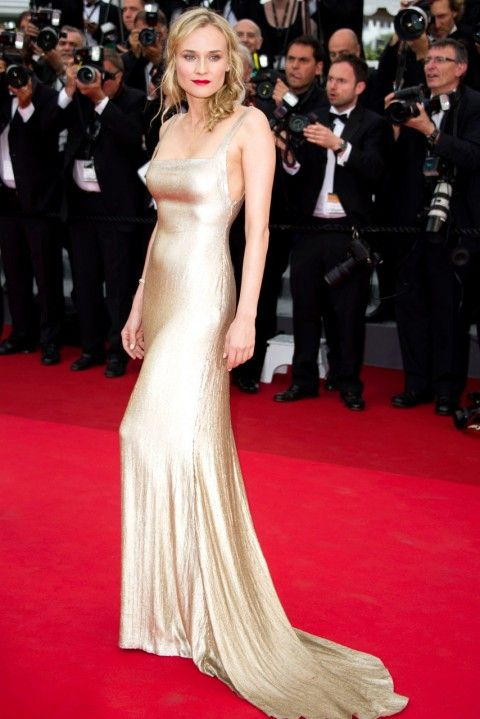 Diane Kruger ruled the Cannes 2011 red carpet at the Sleeping Beauty premiere, in a show-stopping Calvin Klein Collection gown