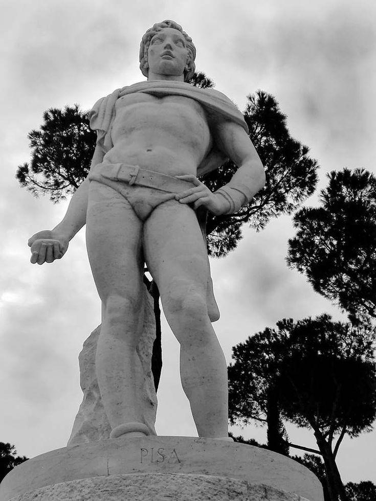 """Art print di fotografia in bianco e nero serie: """"Marmi di Roma"""" - dallo """"Stadio dei Marmi"""" - foto su carta speciale - Statue maschili di IMMAGINEeIDEA su Etsy"""