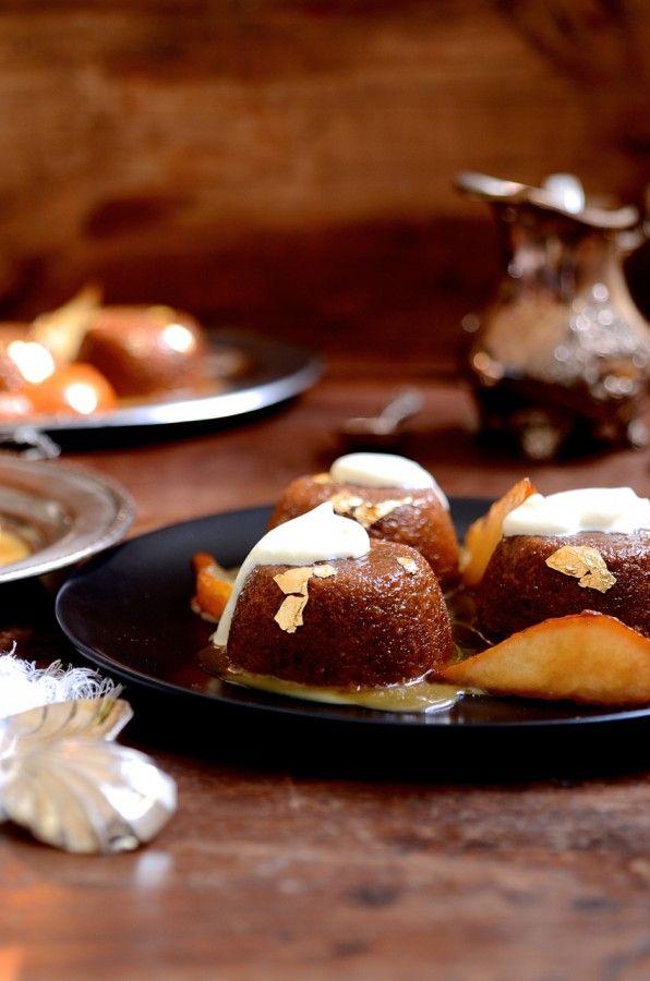 Caramel malva pudding