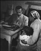 David Seymour 1950 Calabria, Town of Rogiano Gravina.
