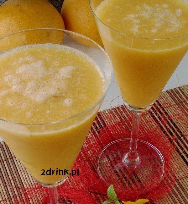 Herbaciany smoothie z brzoskwinią