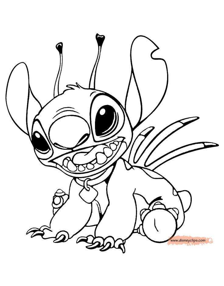 32 best lilo and stitch Coloring Pages images on Pinterest ...