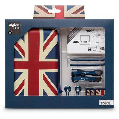 Pack UK per Nintendo 3DS™ XL - Da Bigben Interactive. Ulteriori informazioni qui:  http://www.bigbeninteractive.it/produit/produit/id/8012