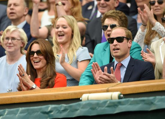 William and Kate Look Like 2 Teenagers in Love During Adorable Wimbledon Date