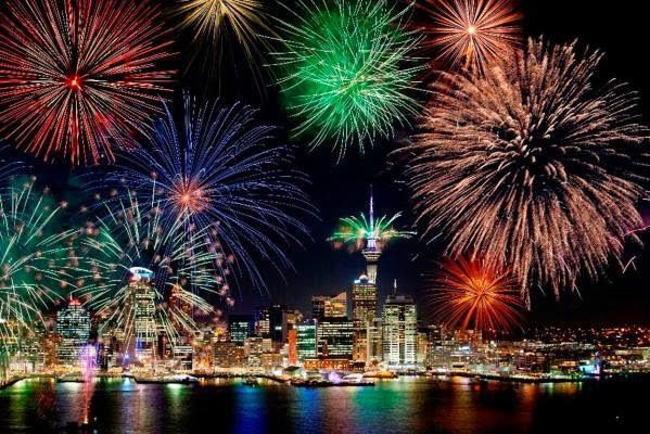 Самые красивые новогодние фейерверки в мире | YACENKA